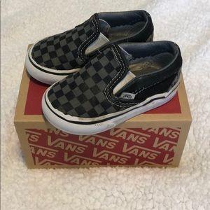 Vans Shoes - Toddler checkered vans
